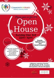 Community of Hearts Open House @ Community of Hearts - Lifelong Learning Centre