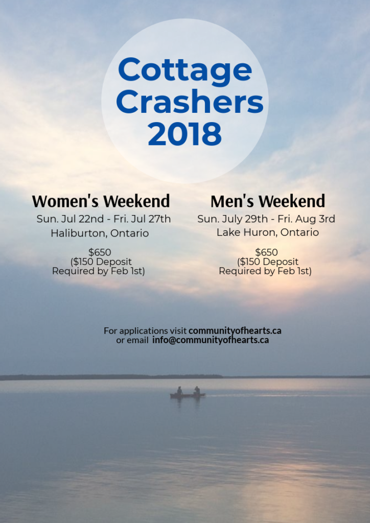 2018 Cottage Crashers Poster